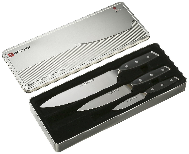 Compra Wüsthof Xline - Juego de cuchillos de puntilla, office y cocinero en Amazon.es