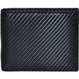 Leather Wallets for Men Slim Bifold RFID Blocking Front Pocket Wallets