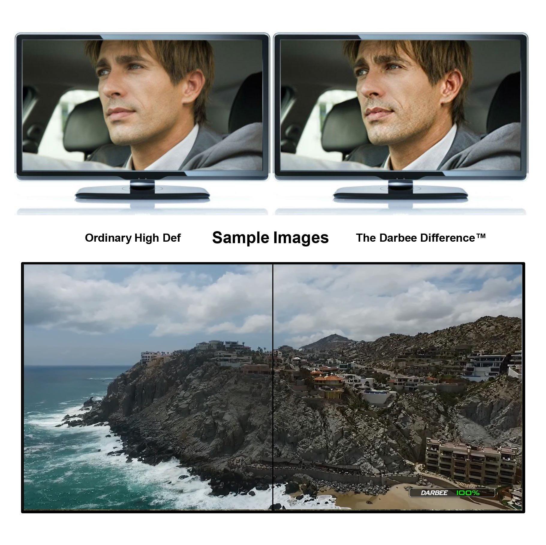 DarbeeVision DVP-5000S Visual Presence HDMI Video Processor - Enhances Video, Projector and Digital TV Clarity