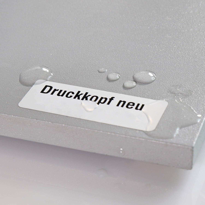 "3/"" 1000 wetterfeste Etiketten permanent PE Polyethylen Etiketten 105 x 74 mm"