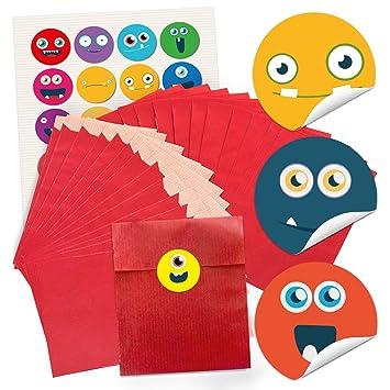 48 pequeñas bolsas de papel Bolsas de regalo del paquete de ...