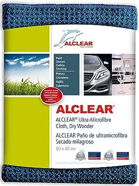 ALCLEAR 820901 Ultra-microfiber Cloth Dry Wonder after Car Wash. Navy. Size: