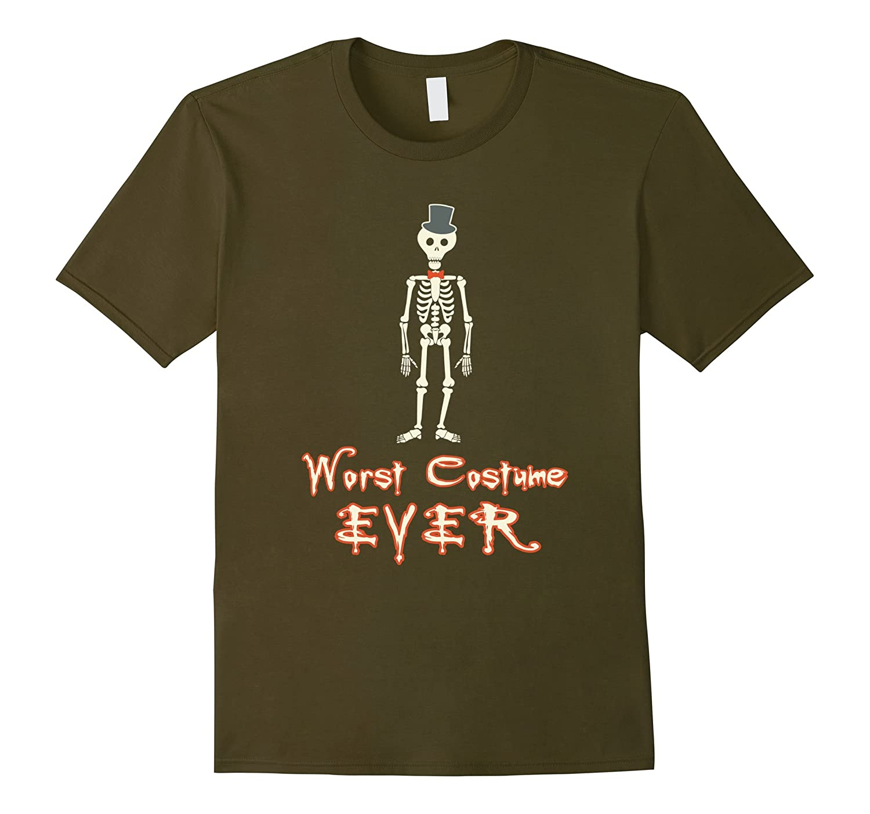 Worst Costume Ever Funny Novelty Halloween t-Shirt-RT