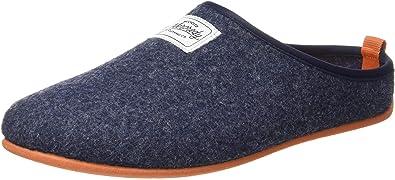 Mercredy Slipper Black Burgundy Mens Black Burgundy Wool Slippers Shoes