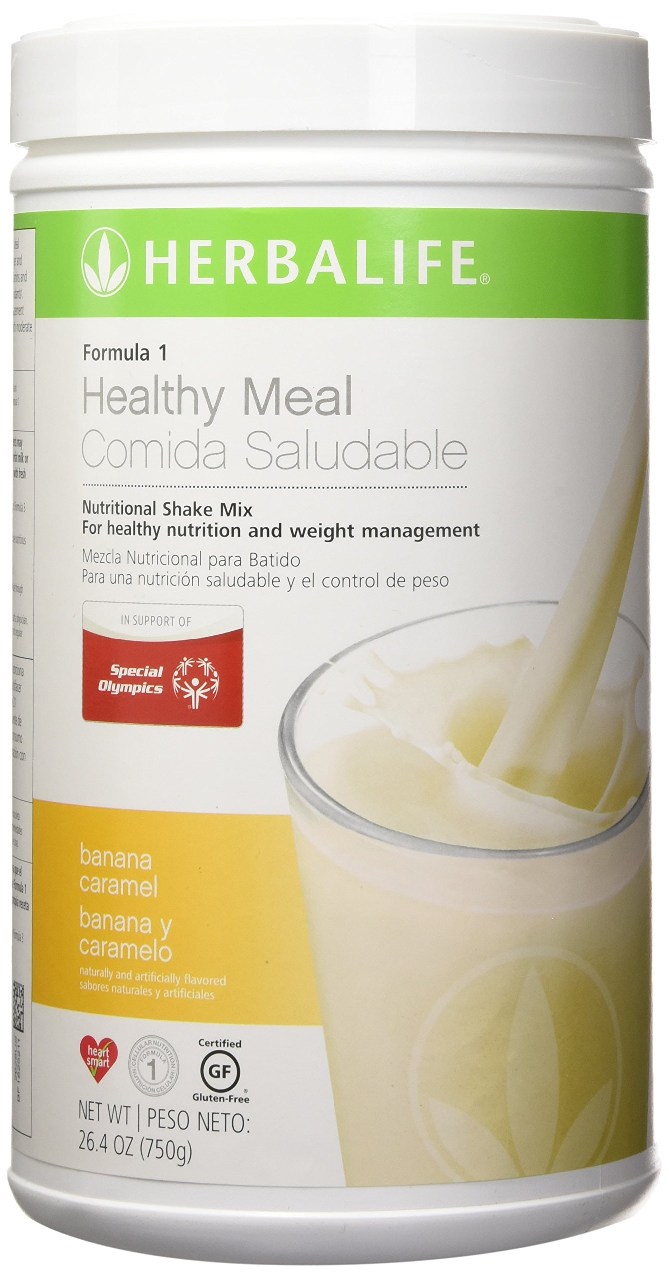 Amazon.com: NEW FLAVOR Healthy Meal Nutritional Shake Mix - Banana Caramel 26.4oz: Health & Personal Care