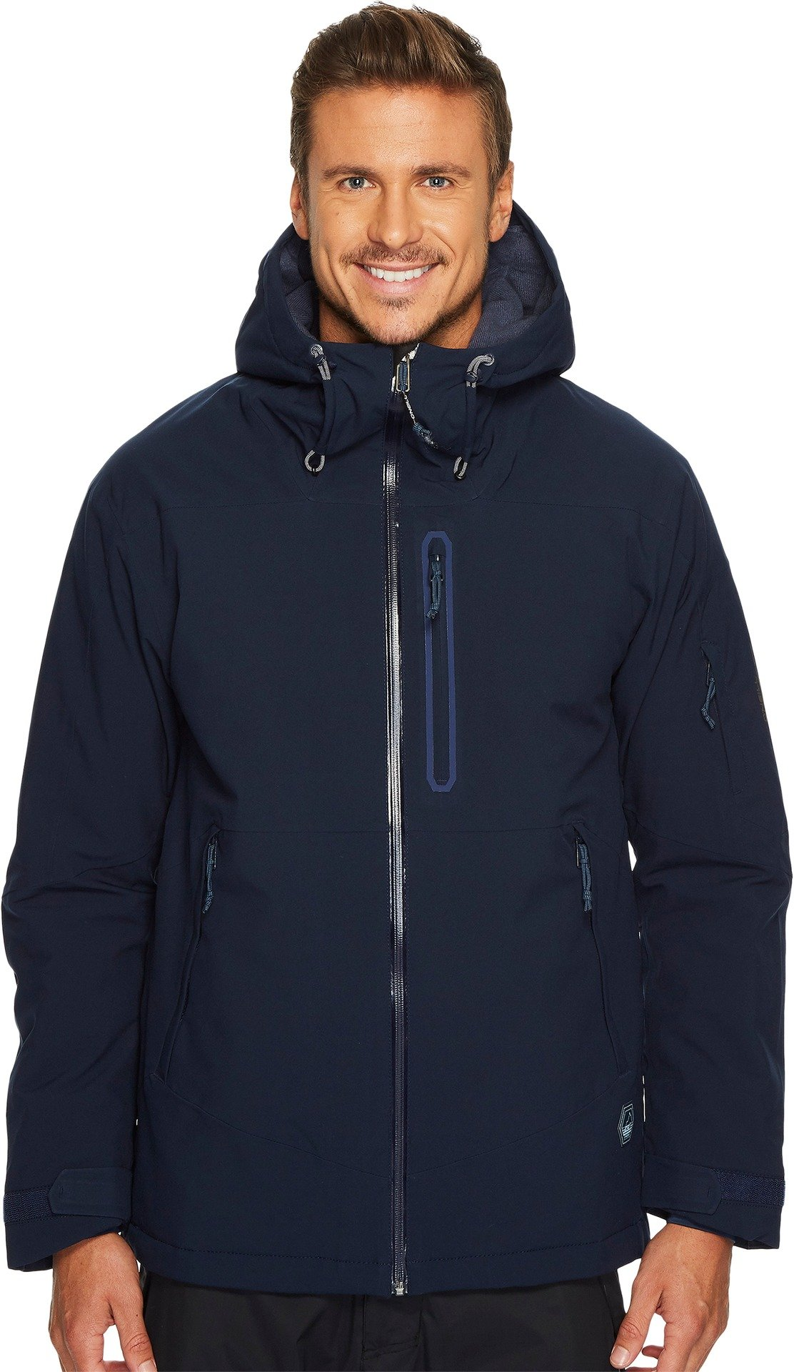 O'Neill Mens Jeremy Jones Rider Jacket Ink Blue 1 LG One Size
