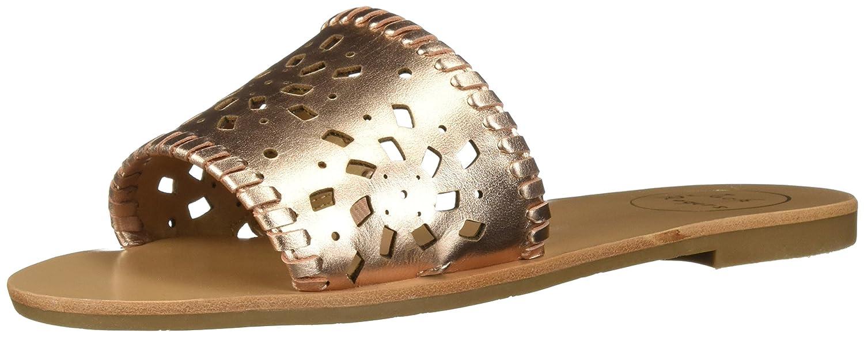 Jack Rogers Women's Delilah Slide Sandal B076CPNKDJ 8.5 B(M) US|Rose Gold