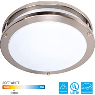 Amazon.com: Acceso iluminación 50069 Luna 1 luz Flush Mount ...
