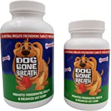 Dog Gone Breath All- Natural, Chewable Breath Freshening Dog Treat. The Only Periodontal Disease Curing, Bad Breath Eliminating, Prebiotic Pet Remedy Recommended for Daily Use