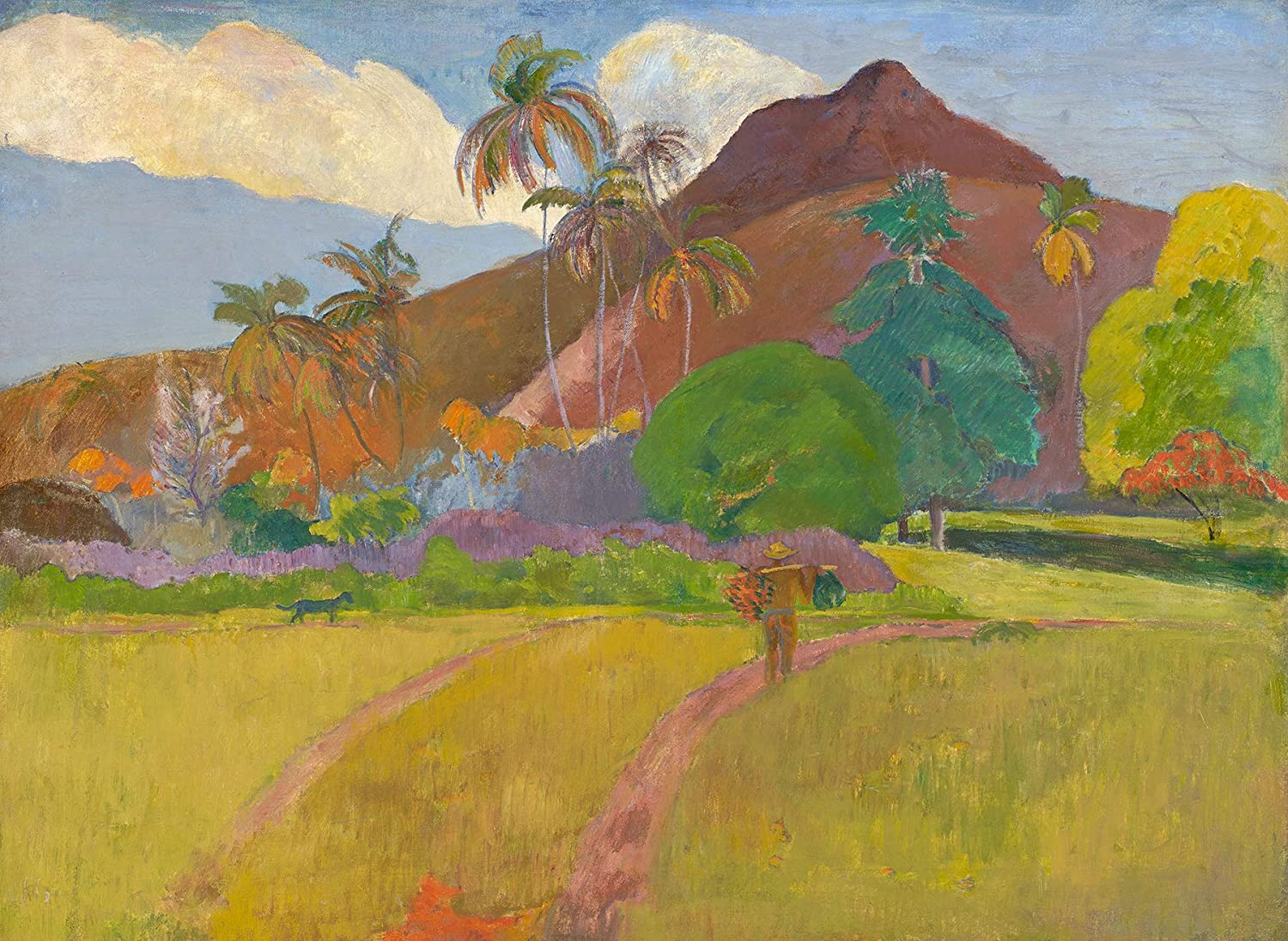 Ta Matete by Paul Gauguin Giclee Fine ArtPrint Reproduction on Canvas