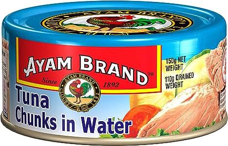 Ayam Brand Tuna Chunks in Water, 150g
