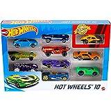 Hot Wheels Pacote 10 Carros Sortidos Modelo Pode Variar Mattel Multicor - 1 (UM) PACOTE SORTIDO SEM OPÇÃO DE ESCOLHA