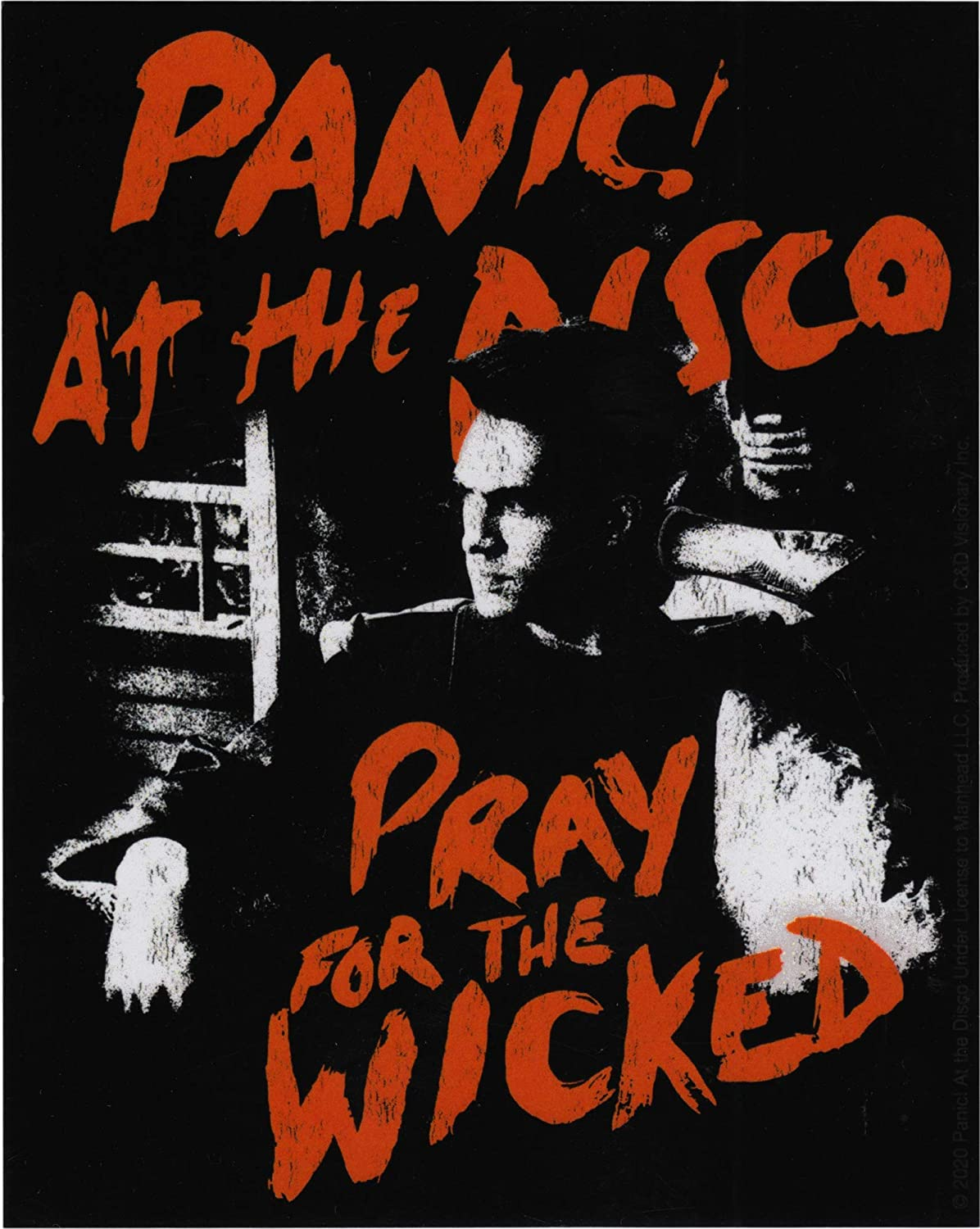 Square Deal Recordings & Supplies - Panic! at The Disco - Pray for The Wicked - Sticker