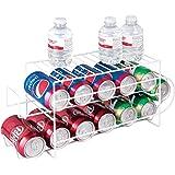 mDesign Organizador de frigorífico para alimentos – Moderno organizador de cocina para latas de…