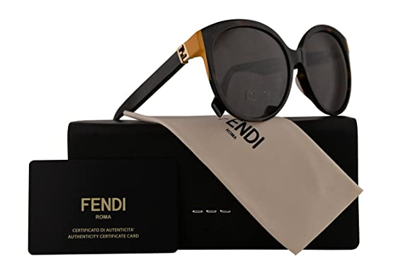 2af0da55db Fendi FF0144 F S Sunglasses The Fendista Havana w Brown Lens 57mm TRD8H  FF0144S FF 0144S FF 0144 F S FF 0144 S  Amazon.co.uk  Clothing