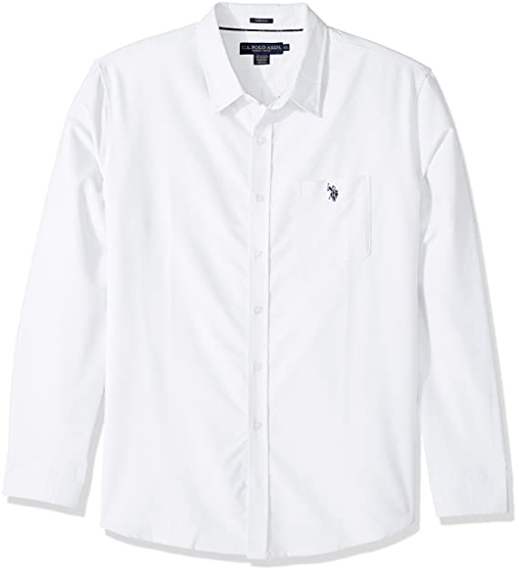 U S Polo Assn Men S Long Sleeve Classic Fit Solid Shirt At Amazon