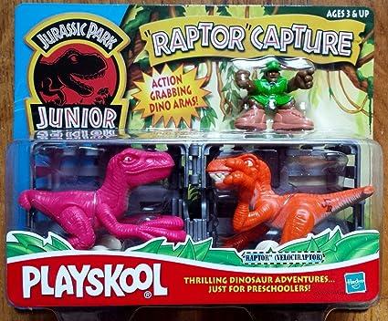 Amazon.com: Jurassic Park Junior Raptor Capture: Toys & Games