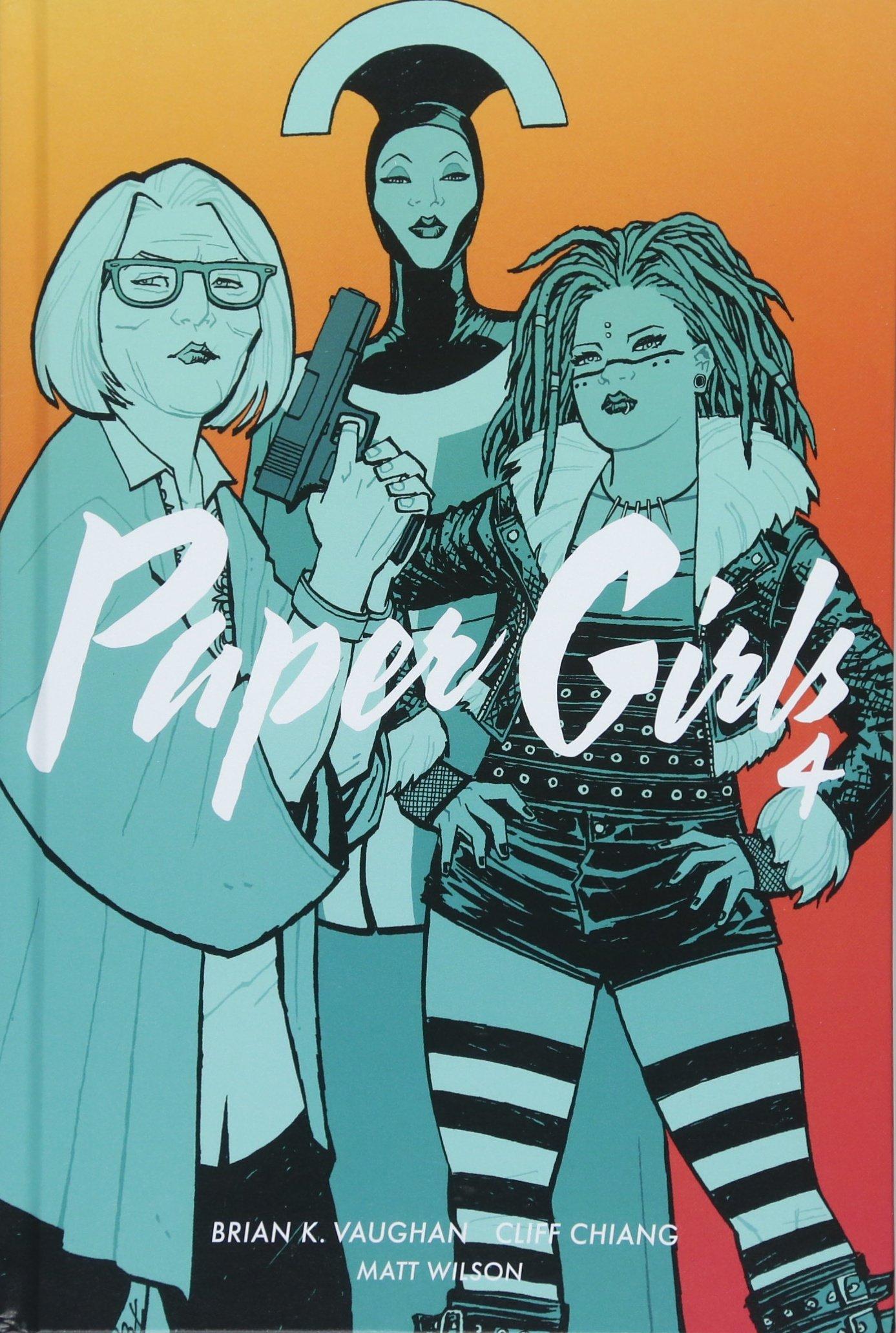Paper Girls 4 Gebundenes Buch – 16. Mai 2018 Brian K. Vaughan Jared K. Fletcher Matthew Wilson Cliff Chiang