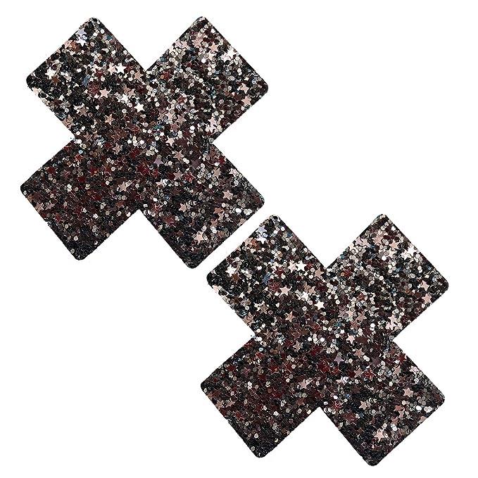 Neva Nude Pasty X Factor Glitter Multi - ZP