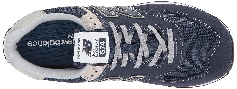 New Balance Women's Iconic 574 Sneaker B06XWXVM5Y 7.5 B(M) US Navy