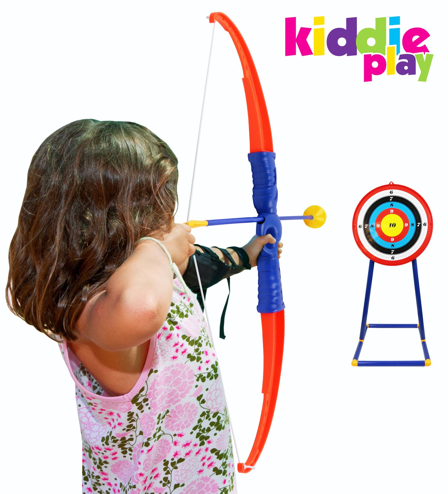 Kiddie Play Toy Archery Set for Kids with Target Bow and Arrow Kids Toys Age 5, 6, 7, 8, 9 Years Old Boys and Girls by Kiddie Play (Image #4)