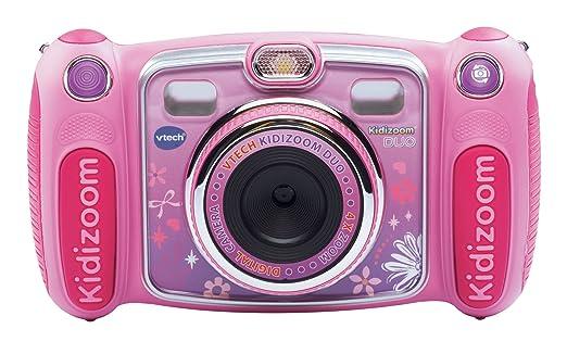 98 opinioni per VTech- Fotocamera per bambini KidiZoom Duo, colore: Rosa