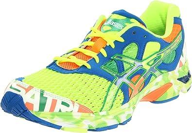 finest selection 4ffb3 52dbd ASICS Men s Gel-Noosa Tri 7 Running Shoe,Pop Yellow Tropical Green