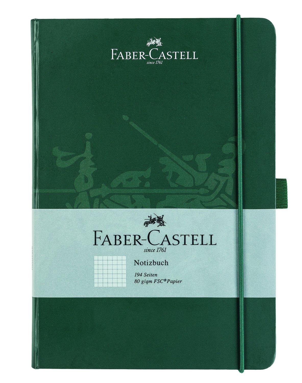 Faber Castell Cuaderno DIN con páginas papel FSC de g m² cuadriculado