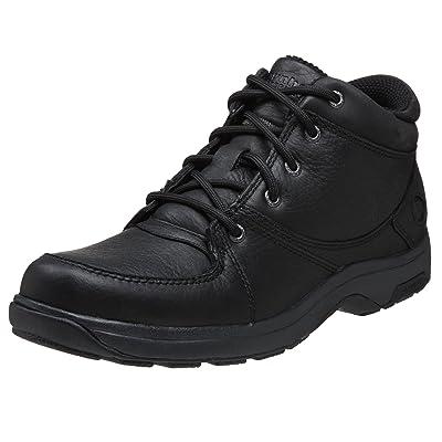 Dunham Men's Addison Mid Cut Waterproof Boot,Black,9.5 B (N)