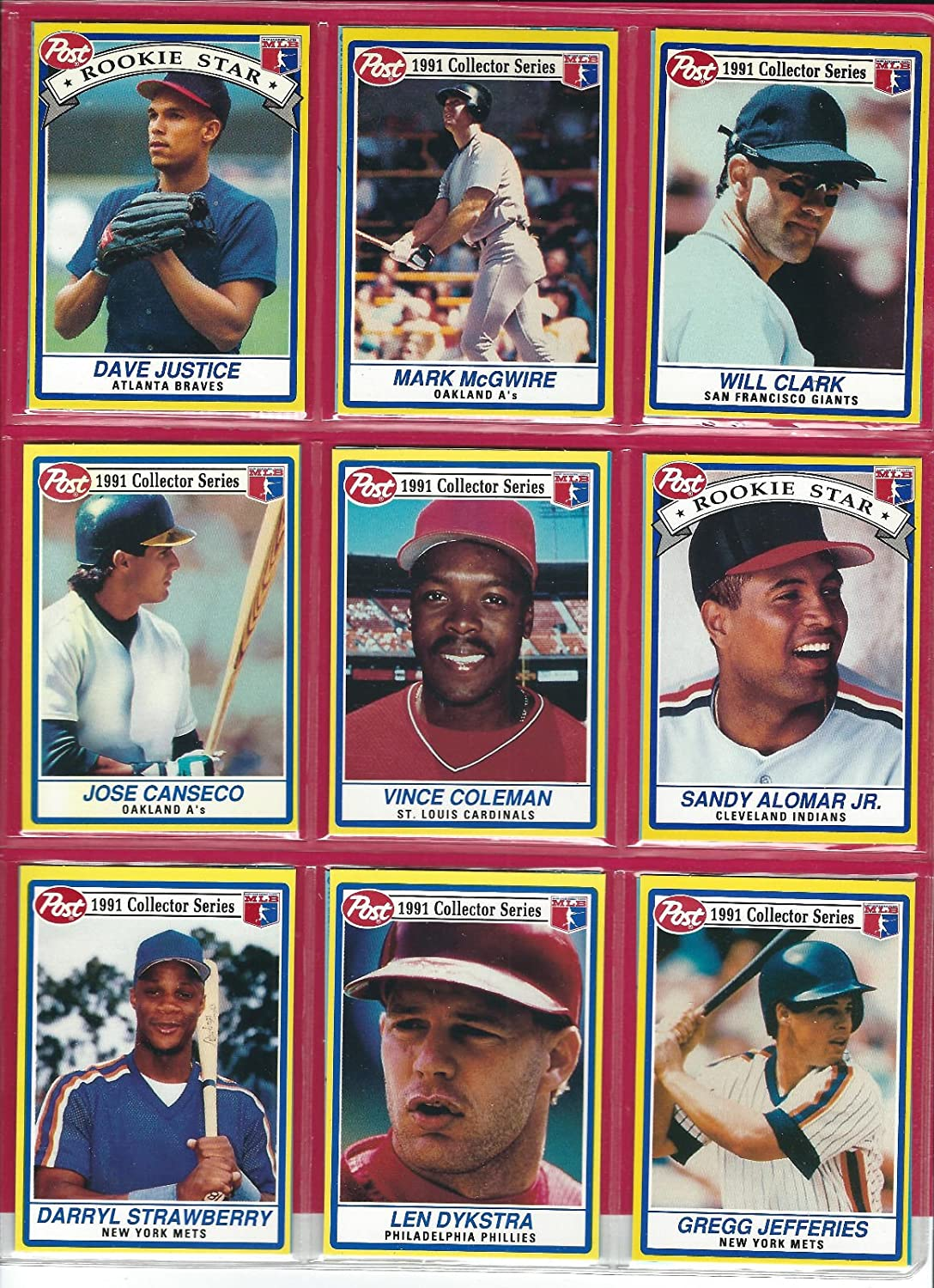 Amazoncom 1991 Post Collector Series Set Of 30 Cards