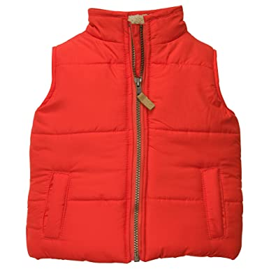 97d48f188 Amazon.com  Carter s Baby-boys Puffer Vest  Infant And Toddler Coats ...