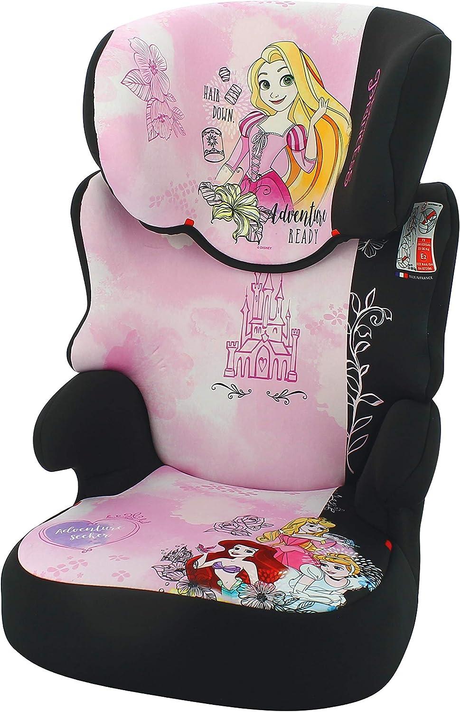 15-36kg Princess Disney first - 4 /étoiles ADAC fabrication fran/çaise Rehausseur enfant BEFIX groupe 2//3