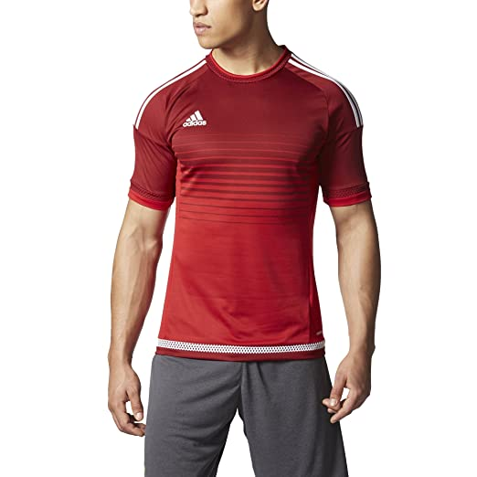 1698f999a Amazon.com   adidas Campeon 15 Mens Soccer Jersey S Power Red ...