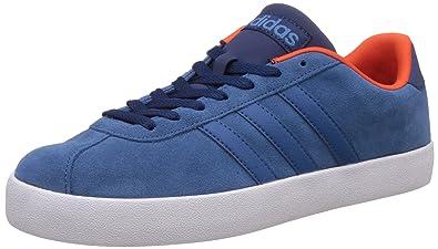 Adidas NEO Men's VL Court Vulc Dark Blue Shoes
