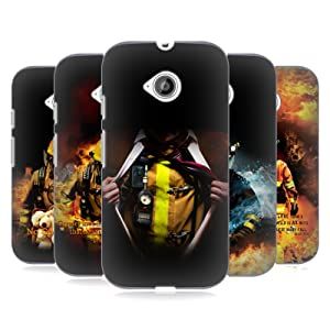 Official Jason Bullard Firefighter Hard Back Case for Motorola Moto E (2nd gen)