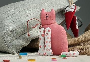 """Gato de peluche artesanal """"Gatito"""""""