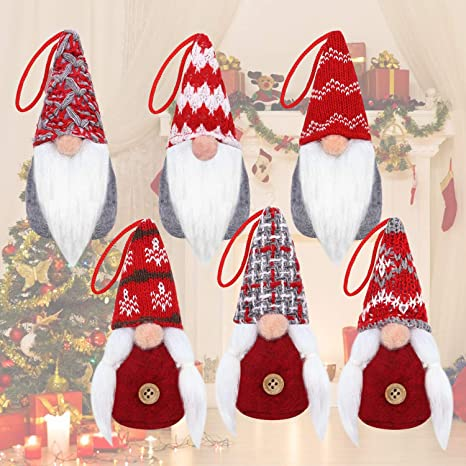 "Unique Santa Claus Tree Christmas Ornament 6/"" or small tree topper"
