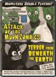 Mihmiverse Double Feature: Attack of the Moon Zombies & Terror from Beneath the Earth