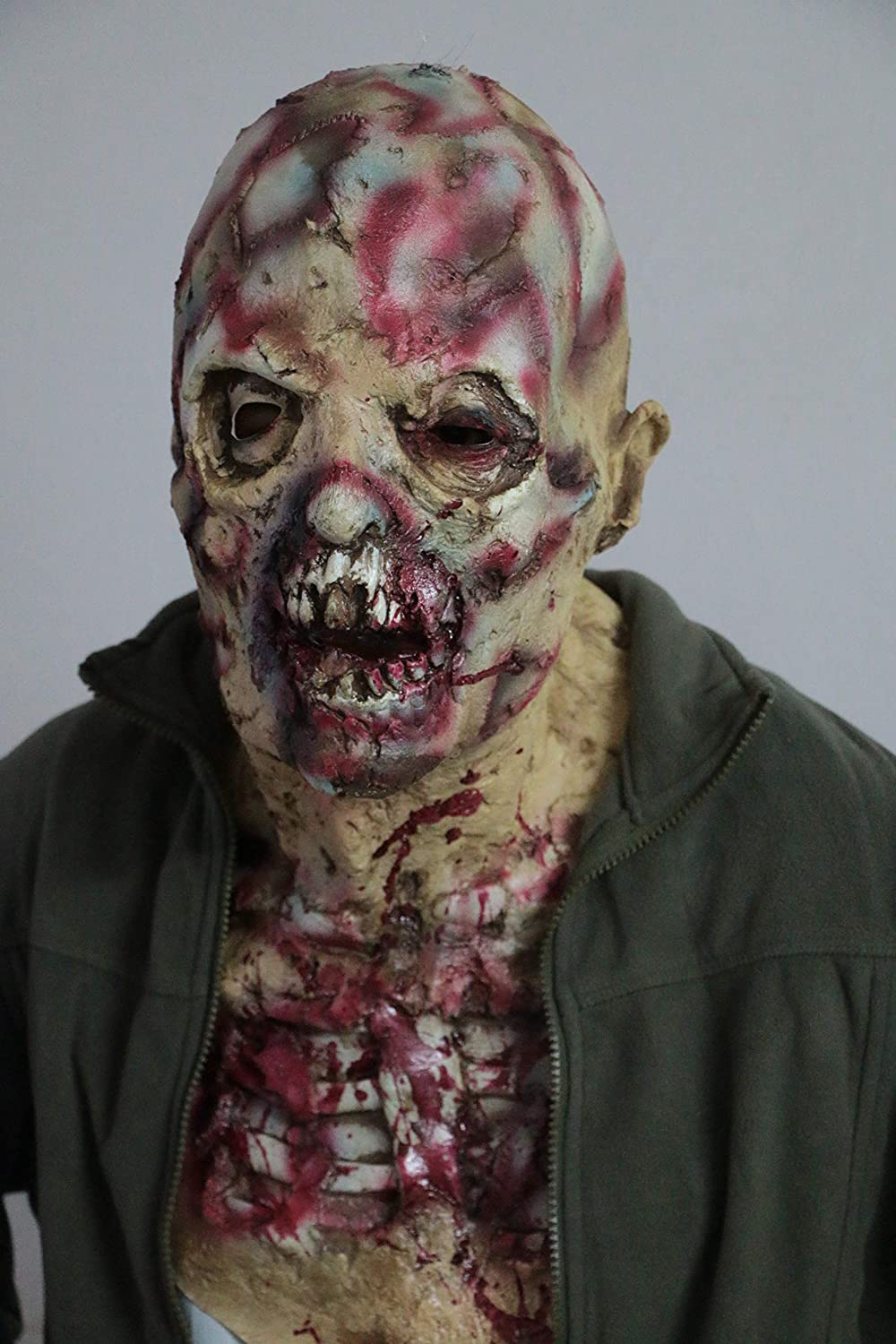 Coobl/® Halloween Costume Party Mask Horror of the zombie mask