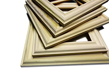bulk unfinished wood picture frames 16 x 20 unfinished wood moulding 5 frames frame shells only