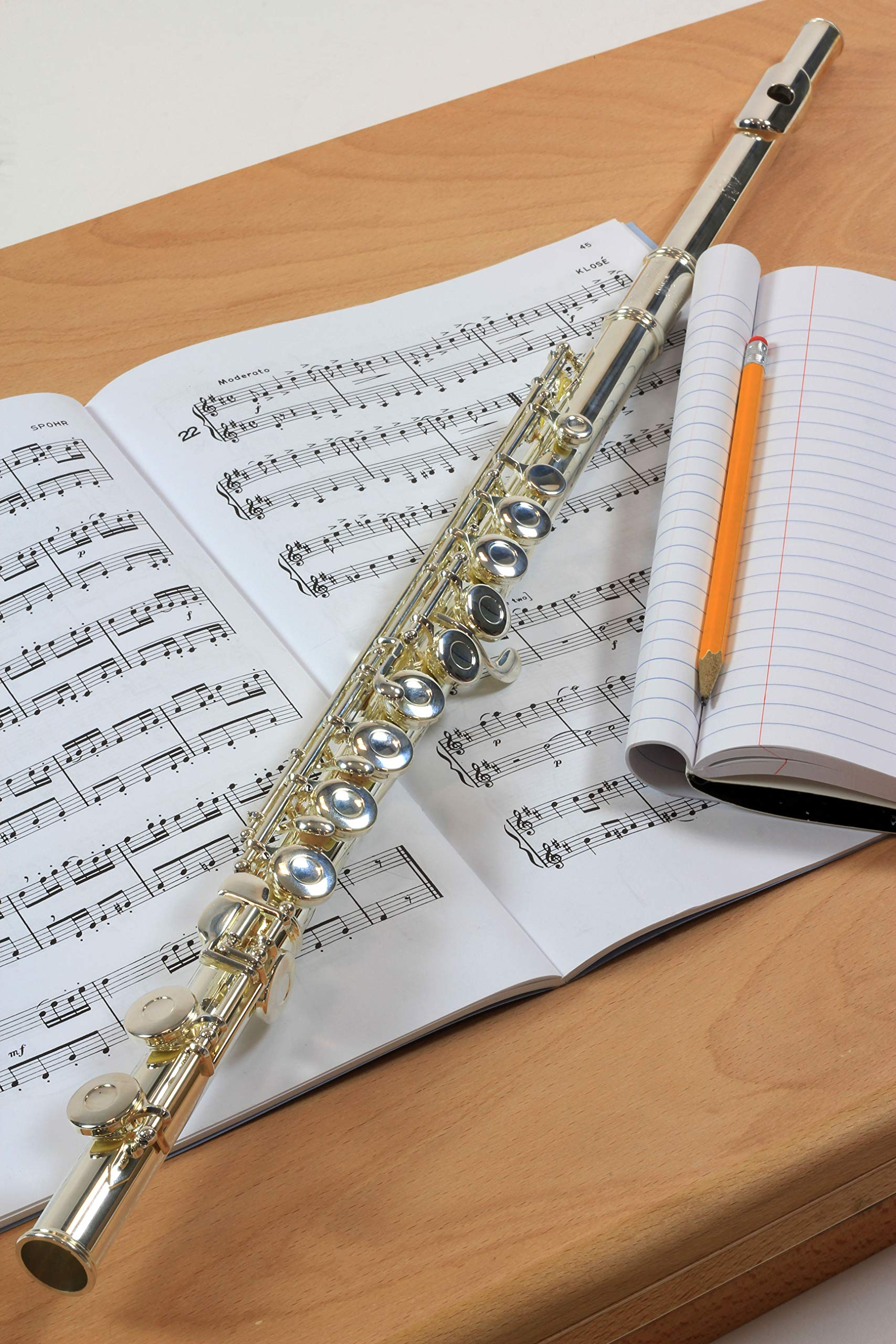 Ravel By Gemeinhardt Silver-Plated Flute (202SP) by Ravel (Image #3)