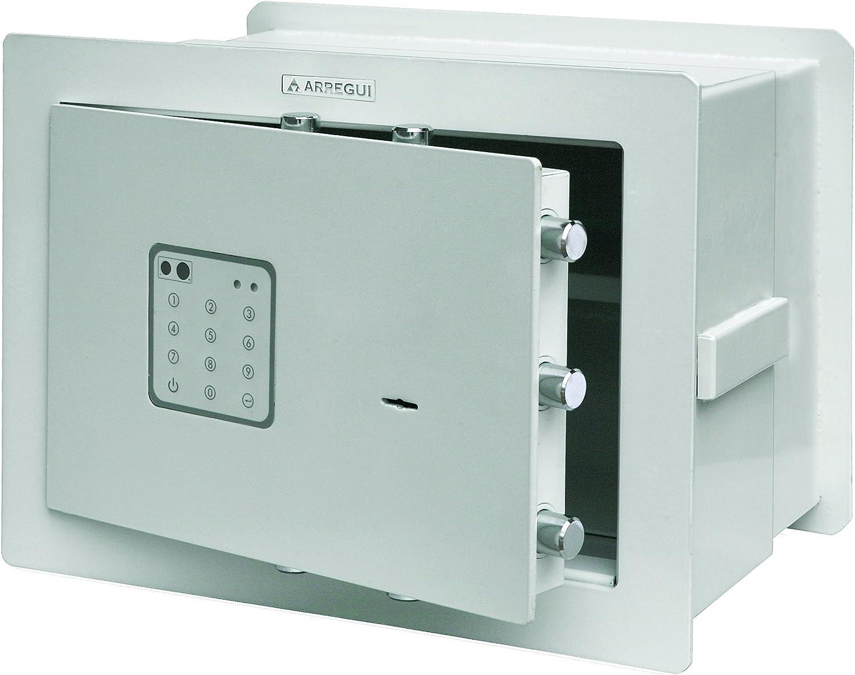 Arregui 15010W-IZQ Caja Fuerte, Beige, 420 x 320 x 200 mm: Amazon ...
