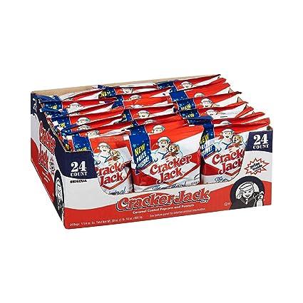 Cracker Jack Snack Bags - Bolsa para aperitivos (24 unidades ...