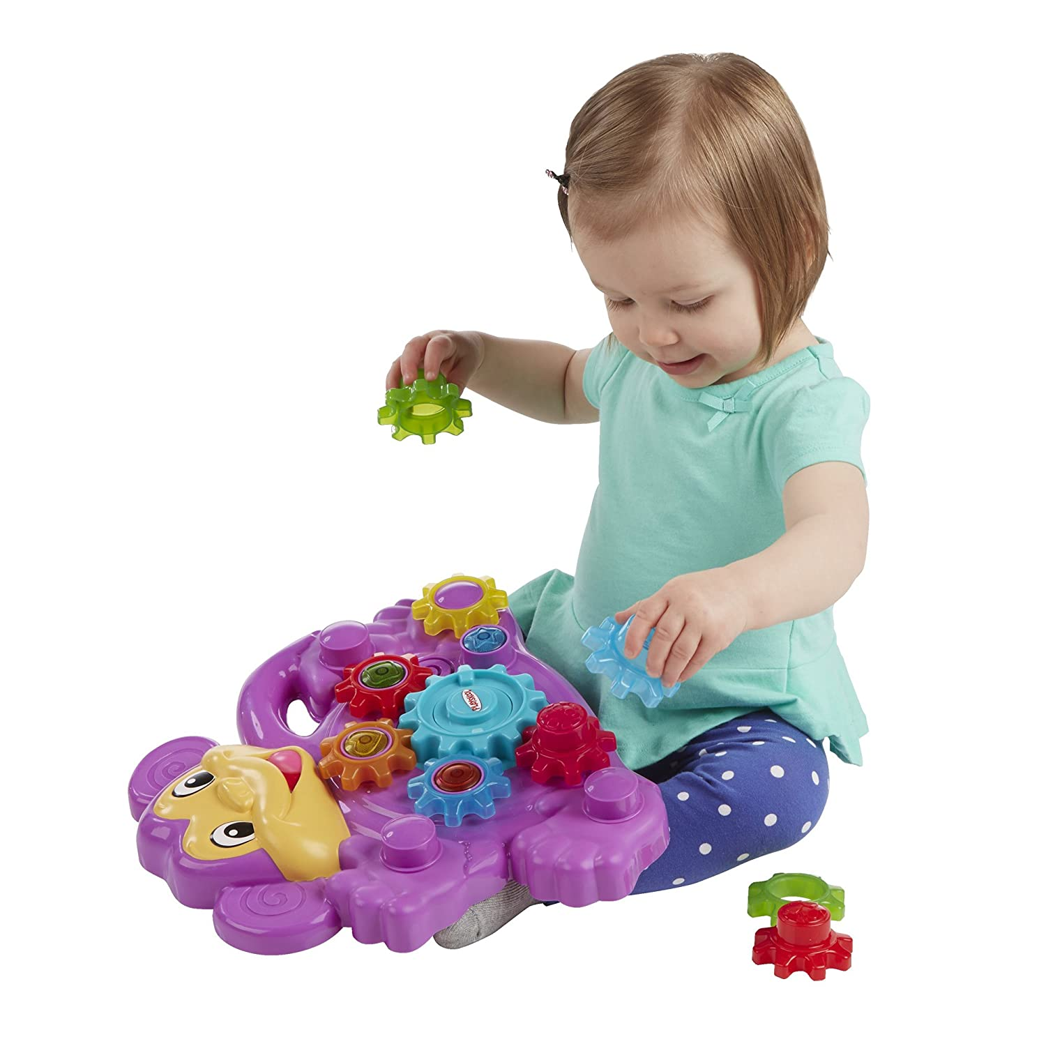 Amazon Playskool Stack n Spin Monkey Gears Toys & Games