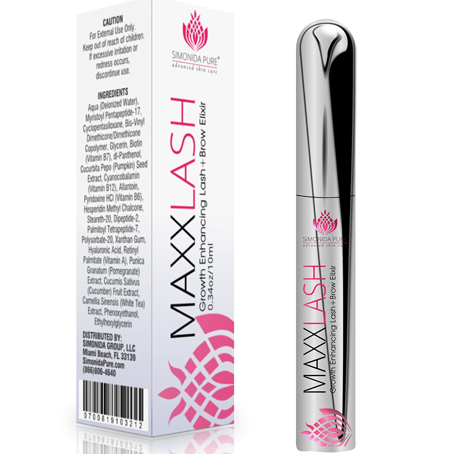 Amazon Eyelash And Eyebrow Growth Serum Enhancer Fuller