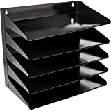 "AmazonBasics 5 Tier Metal Office Document Organizer Tray, 15"" x 9"" x 13"""