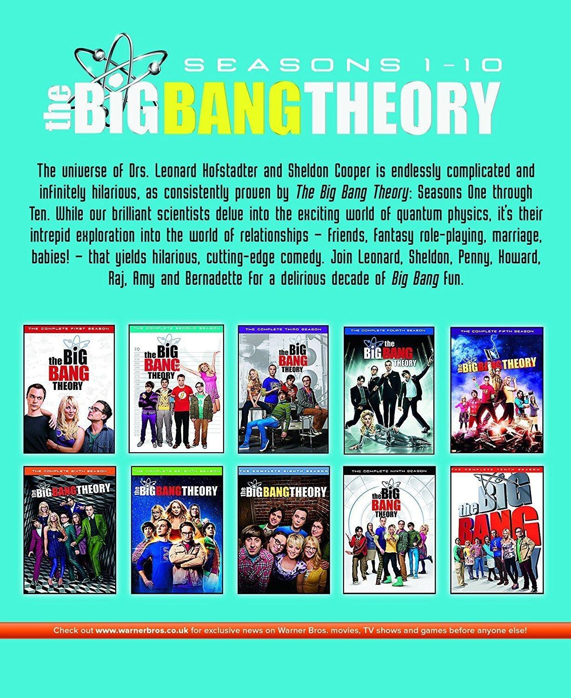 Amazon.com: Big Bang Theory - Seasons 1-10 [Blu-ray] [Region Free ...