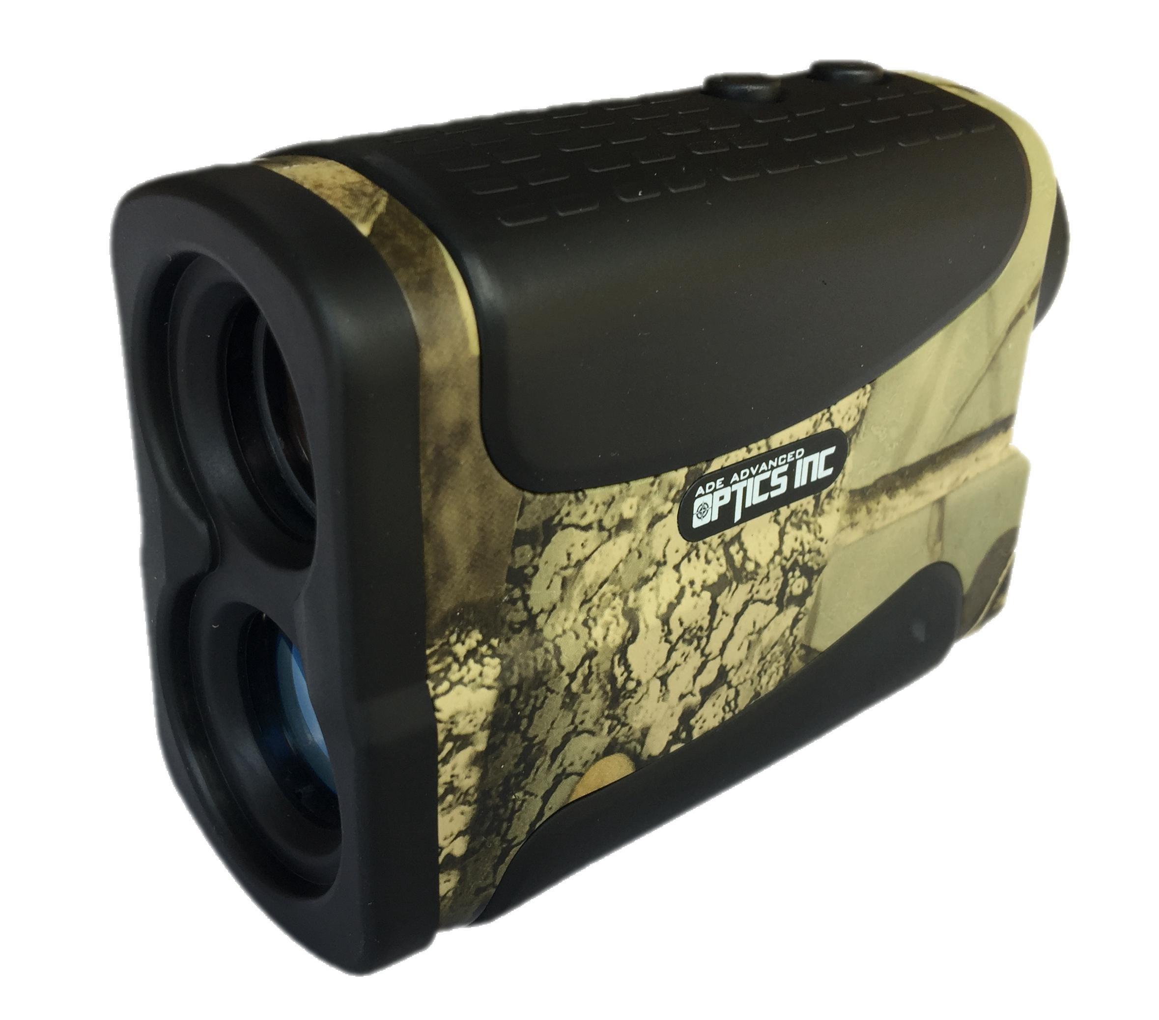 Ade Advanced Optics Golf Rangefinder Hunting Range Finder with PinSeeker Laser Binoculars, Camouflage by Ade Advanced Optics (Image #4)
