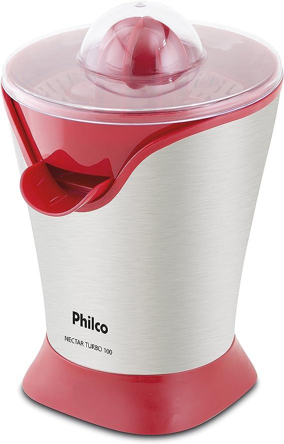 Espremedor de Frutas, Nectar Turbo 100, 50w, Vermelho