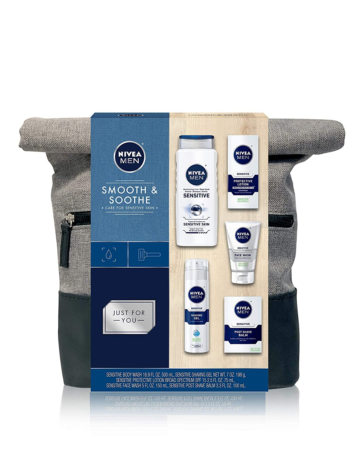 NIVEA Men Dapper Duffel Gift Set